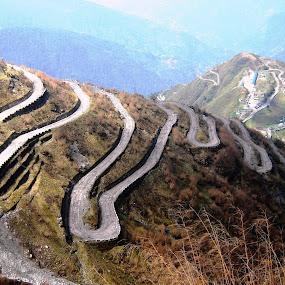 OLD SILK ROUTE by Ajit Kumar Majhi - Transportation Roads (  )