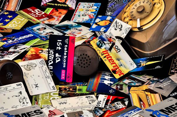 carte telefoniche,  ...che passione. di kaos