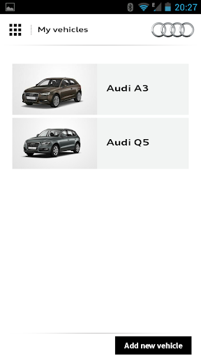 myAudi mobile screenshot 2