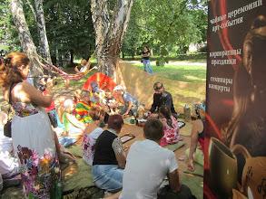 Photo: Выездная чайная церемония на Арт-Пикнике Славы Фроловой. ВДНХ, Киев, лето 2013  Заказ церемонии по тел. +38044 451 4283, киевский Чайный Клуб.  Подробности на сайте: http://www.cha.com.ua/uznai-bolshe/o-klube/karta-uslug/visiting-tea-ceremony