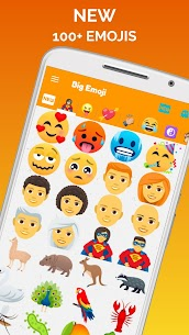 Big Emoji Mod Apk – large emoji for all chat messengers 5