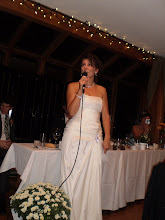 Photo: cathy making a touching speech