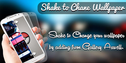 Shake to Change Live Wallpaper
