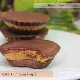 Chocolate Pumpkin Cups ***Low Carb Treat