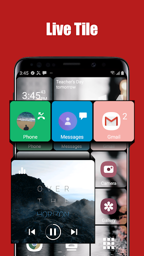 Square Home Key - Launcher: Windows style 8 screenshots 2