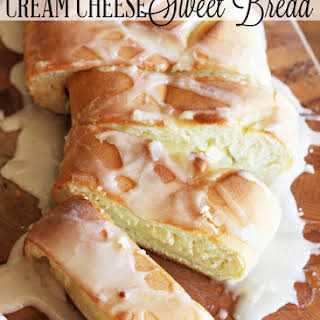 Cream Cheese-Filled Sweet Bread.