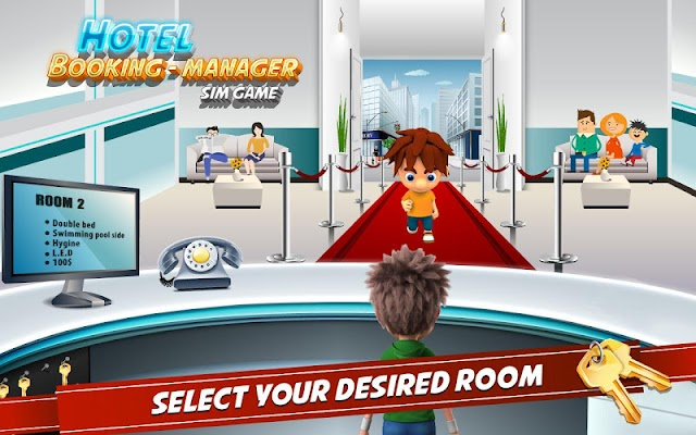 Hotel Booking Manager Sim Free - screenshot