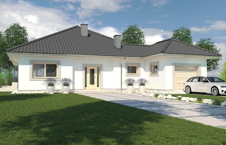 Projekt domu Bella wersja A bez garażu (TAF 658)  98 7m² -> Kuchnia Projekt Bella