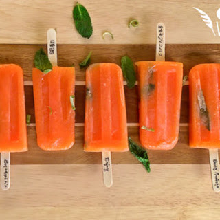 Papaya Popsicles! Recipe