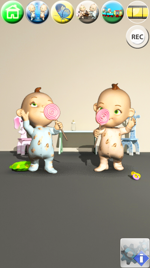 Talking Baby Twins - Babsy- screenshot