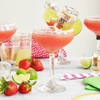 Mini Tequila Bottle Margaritas