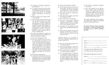 Photo: Glen Spey Tikvah Program Brochure Inside
