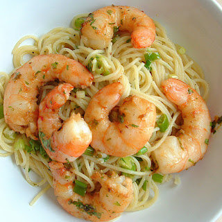 introducing a favorite | lemon linguini & Cajun shrimp
