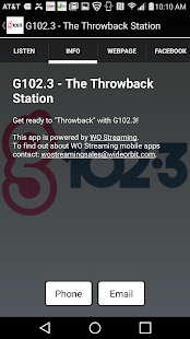 G102.3 - The Throwback Station- screenshot thumbnail