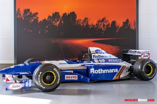 Would you pay R1m for an F1 car?