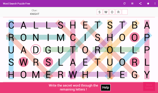Word Search - Free Word Game 8.0 screenshots 8
