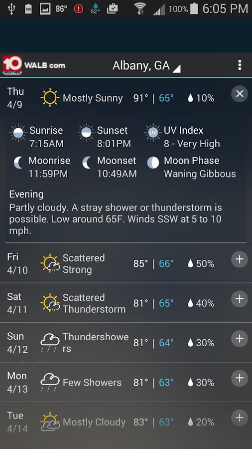 WALB 24/7 Weather - screenshot