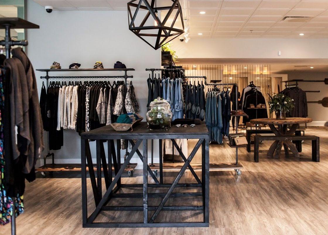 Thiết kế shop thời trang nam vintage