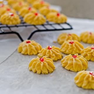 Samperit / Custard Cookies Recipe