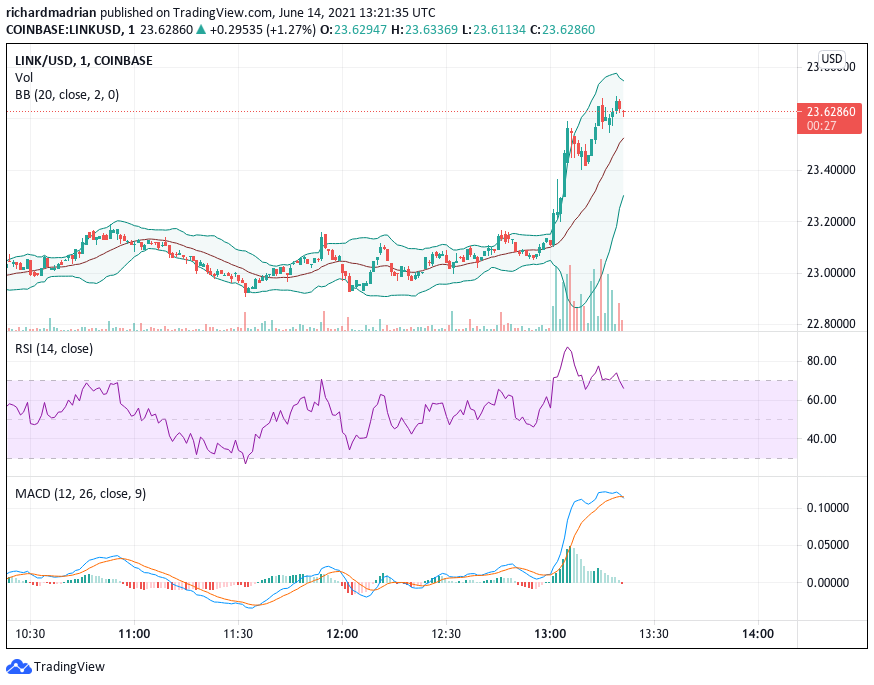 Chainlink Price Analysis: Chainlink shut from uptrend by overhead bears at $25 Mark 1
