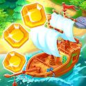 Treasure Hunters: free match3 gems icon