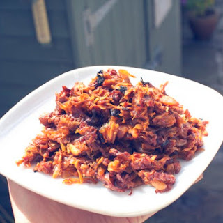 VEGAN PULLED PORK