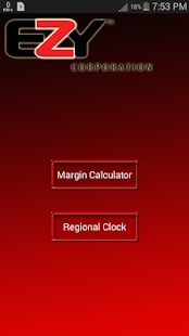 EZY Margin Calculator- screenshot thumbnail