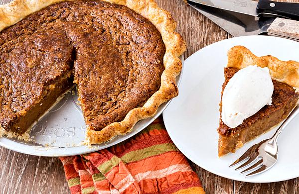 Cinnamon Sorghum Custard Pie Recipe | Yummly