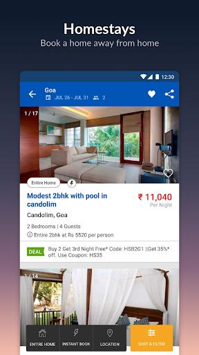 MakeMyTrip-Flights Hotels Cabs IRCTC Rail Bookings screenshot 7