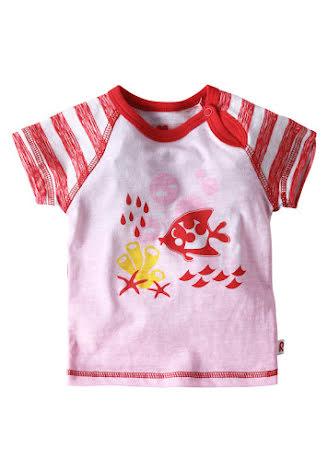 Reima Chilko 516113-3711 Flame Red t-shirt