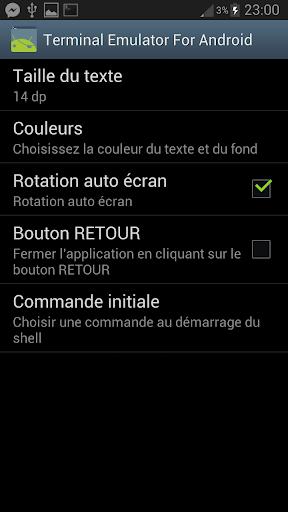 Terminal Emulator PRO screenshot 3