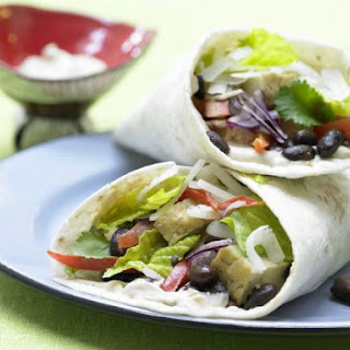 Vegetable Wraps.