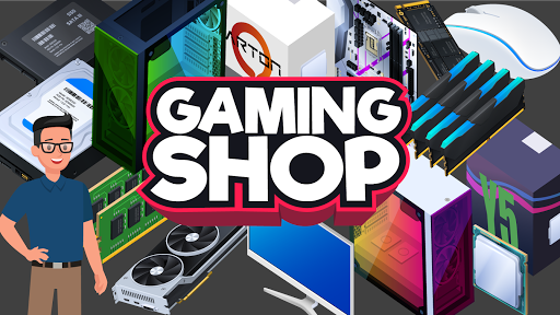 Gaming Shop Tycoon  - Idle Shopkeeper Tycoon Game 1.0.3 screenshots 1