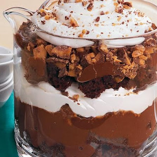 Spiked Brownie Trifle Recipe