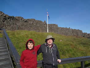 Photo: The traditional site of the Althingy (the National Parliament of Iceland) that has been meeting since 930 AD