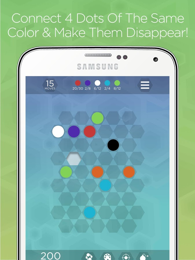 Hexa Dots - Connect Four Dots- screenshot