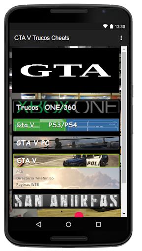 Trucos Cheats para GTA5 2.0 screenshots 2