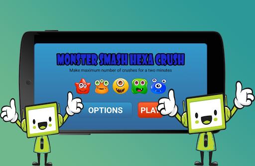 Monster Crush Hexa Smash