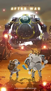 After War – Idle Robot RPG Mod Apk (Free Robo) 1