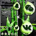 Bamboo Water Drop Launcher Theme icon