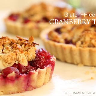 Gluten Free Cranberry Tart