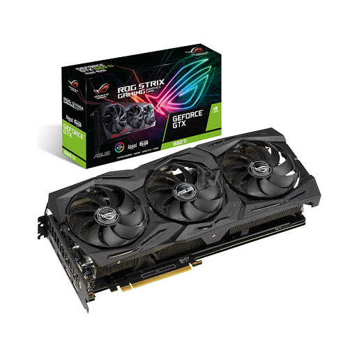 Card màn hình/ VGA Asus ROG Strix GTX 1660 Ti Advanced 6GB GDDR6 (ROG-STRIX-GTX1660Ti-A6G-GAMING)