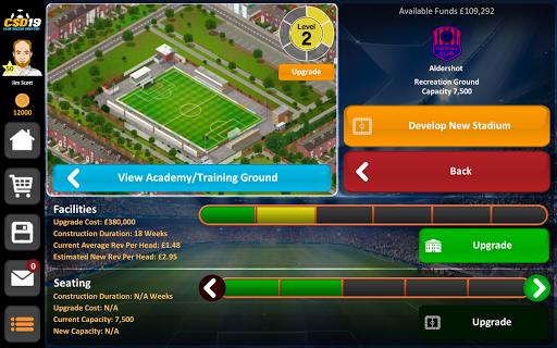 Club Soccer Director 2019 - Soccer Club Management 2.0.25 screenshots 18