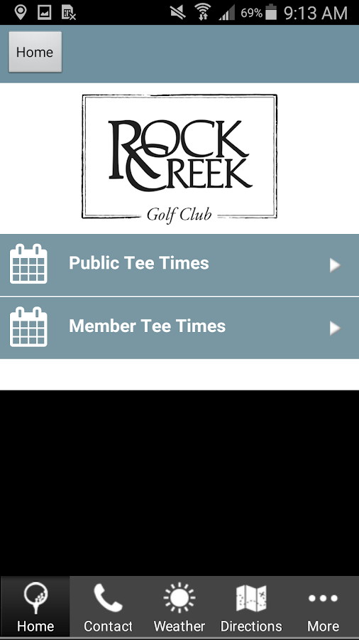 Rock Creek Golf Club- screenshot