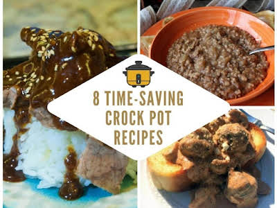 8 Time-saving Crock Pot Recipes
