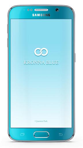 KakaoTalk Theme - KRONNA BLUE