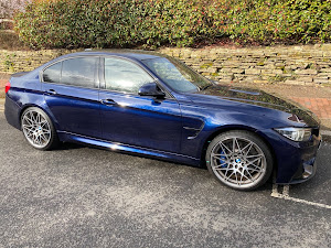 BMW M3 COMPETITION PACKAGE S A