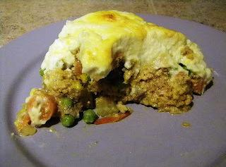 Shepherds Pie With Whipped Cauliflower Topping Recipe