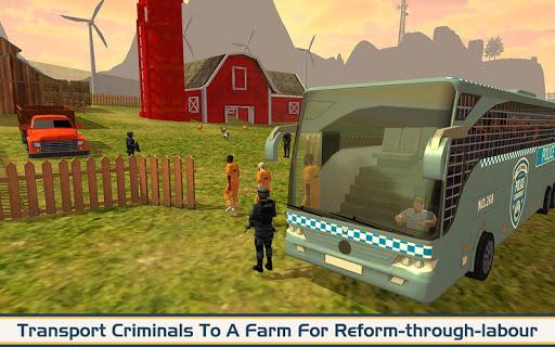 Angry Criminals Transport: Police Bus Sim 1.3 screenshots 8