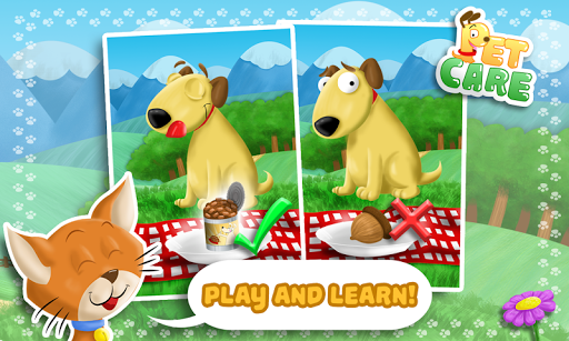 Pet Care - A Game For Toddlers